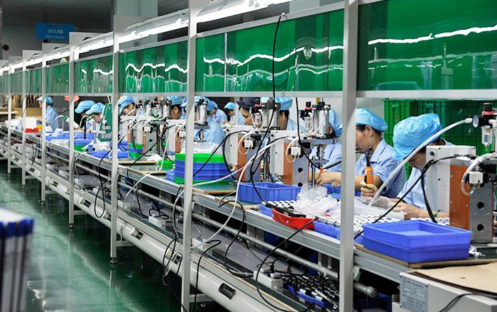 人工組裝 生產線